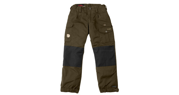 Fjällräven Vidda Padded Trousers Kids Dark Olive/Black